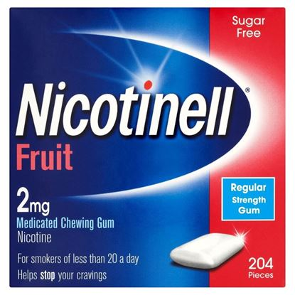 Picture of Nicotinell Fruit Gum 2mg, 204 Pieces