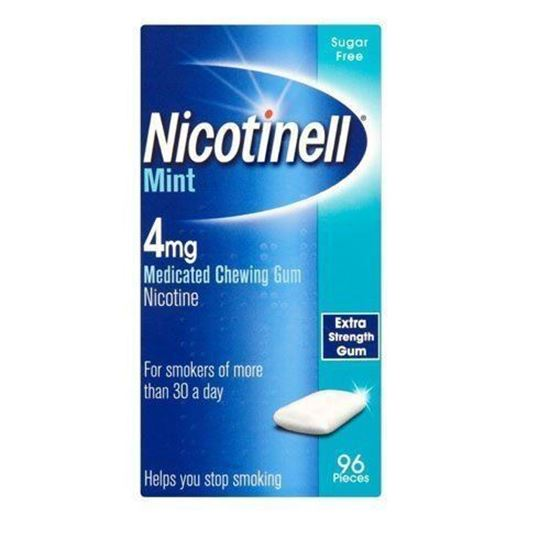 Picture of Nicotinell Mint 4mg Medicated Chewing Gum 96 Pieces