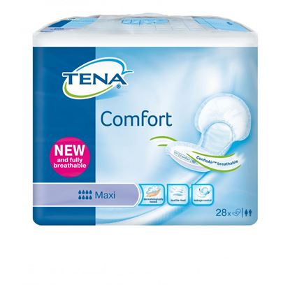 Picture of TENA Comfort Maxi Pads- Pack of 28