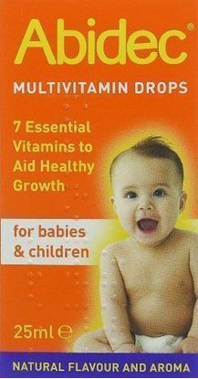 Picture of Abidec MultiVitamin for Babies & Children Drops 25ml - Pack-1