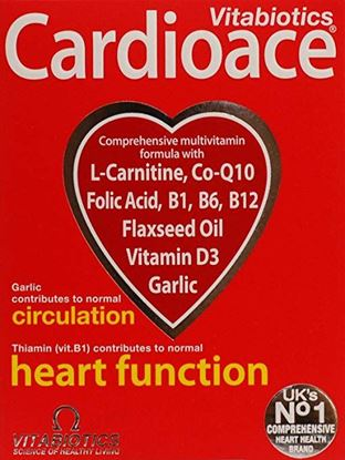 Picture of Cardioace By Vitabiotics - 30 Tablets