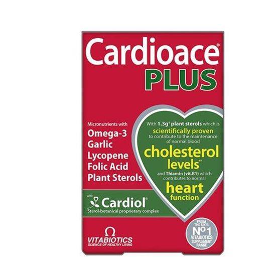Picture of Cardioace Vitabiotics Plus Capsules 60 Capsules