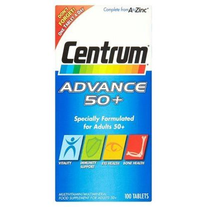 Picture of Centrum advance 50+ multivitamin & multimineral 100 pack