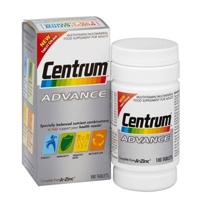 Picture of Centrum Advance Tablets Pack of 100