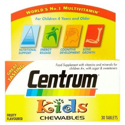 Picture of Centrum Kids Tablets Pack of 30