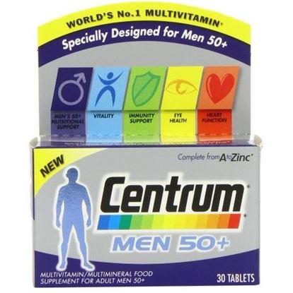 Picture of Centrum Men 50+ 30 Tablets