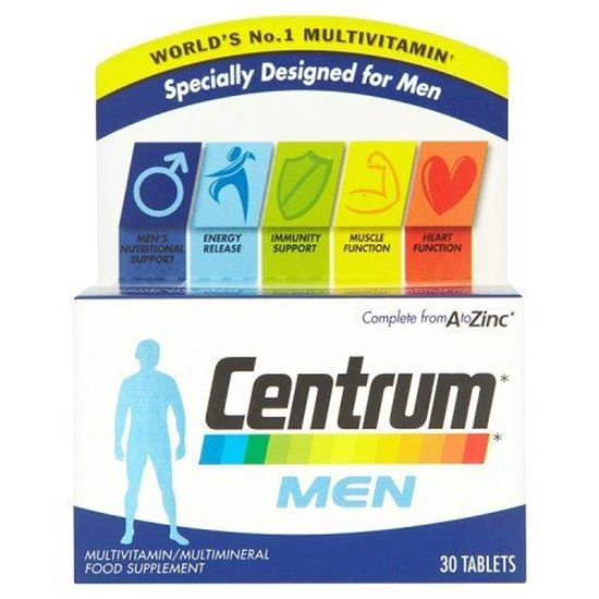 Picture of Centrum Multivitamin Men Tablets - Pack of 30