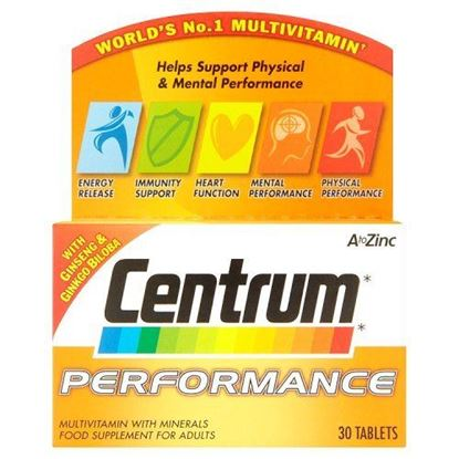 Picture of Centrum Performance Multivitamin & Minerals Supplement 30 Tablets