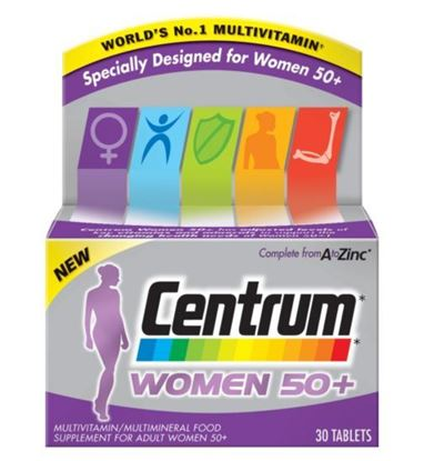 Picture of Centrum Women 50+ 30 Tablets