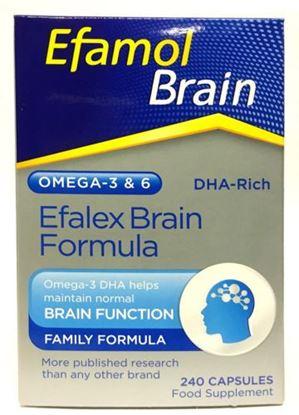 Picture of Efalex original Omega-3 Brain Formula 240 capsules