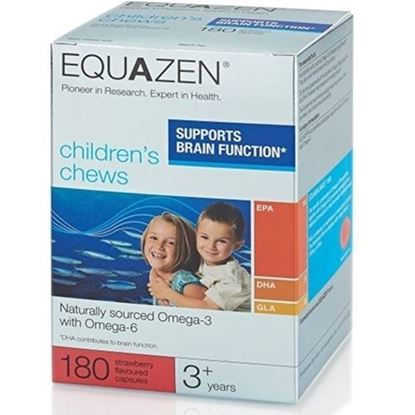 Picture of Equazen Eye q Chews 3 Years to Adults 180 Capsules
