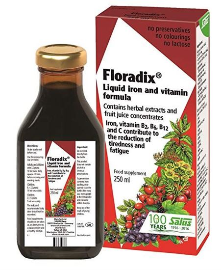Picture of Floradix Iron & Vitamin Formula Liquid 250ml