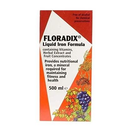 Picture of Floradix Liquid Iron Formula 500Ml