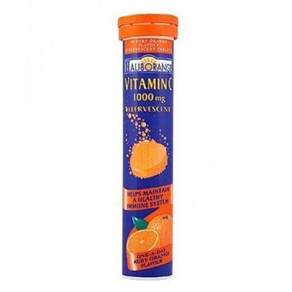 Picture of Haliborange Effervescent Vitamin C Orange 1000mg 20 Tablets
