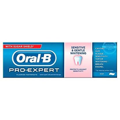 Picture of Oral B Pro-expert Sensitive + Gentle Whitening Antibacterial & Fluoride