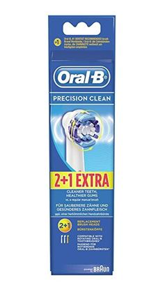 Picture of Oral-B Precision Clean Brush Heads powered by Braun (EB20-3) 3pack