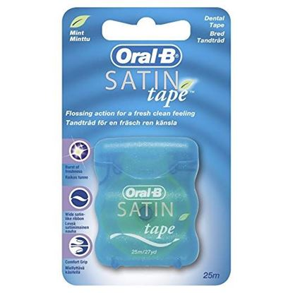 Picture of Oral-B Satin Tape Mint 27 Yd