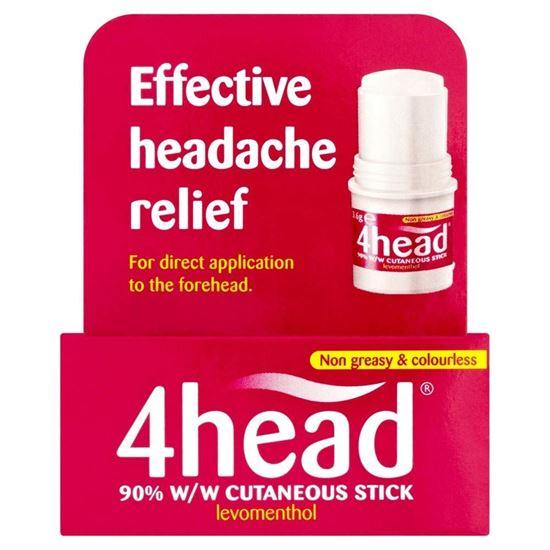 Picture of 4head Headache & Migraine Relief Stick - 3.6g