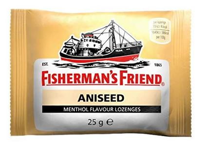 Picture of Fishermans Friend Aniseed Menthol Flavour Lozenges 25g