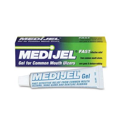 Picture of Medijel Gel For Common Mouth Ulcers 15g