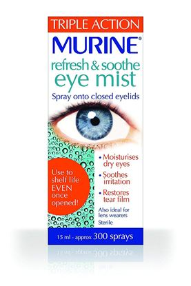 Picture of Murine Refresh And Soothe Eye Mist 15ml