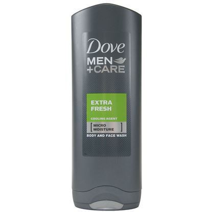 Picture of Dove Men+ Care Body And Face Wash Extra Fresh 250ml
