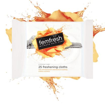 Picture of Femfresh Body Fresheners Range Wipes 25