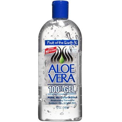Picture of Fruit of the Earth Aloe Vera 100 Percent Gel For Sunburn 340gm