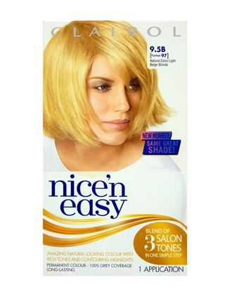 Picture of Nice n Easy Natural Extra Light Beige Blonde Permanent Hair Colour 9.5B