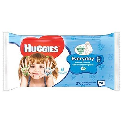 Picture of Huggies Baby Wipes On The Go  24