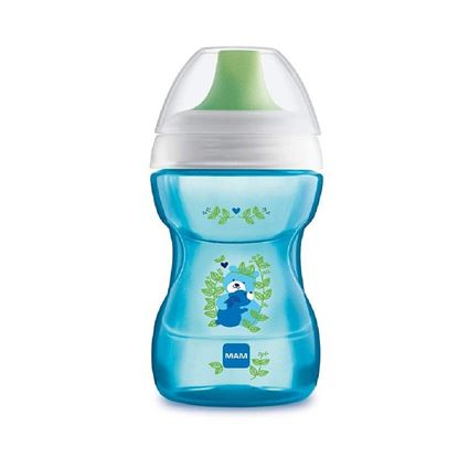Picture of Mam 270 Ml Fun To Drink Cup (Blue)