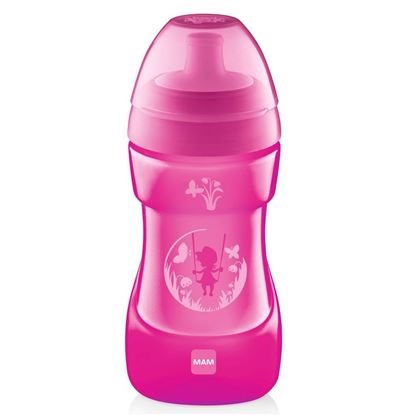 Picture of Mam Baby Sports Cup 330ml PINK