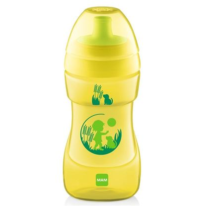 Picture of Mam Baby Sports Cup 330ml YELLOW