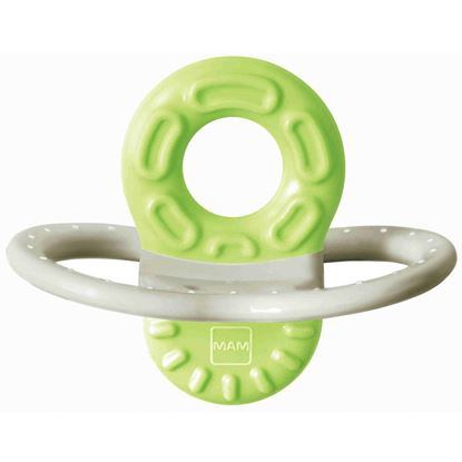 Picture of Mam Bite & Relax Teether 2+Months - 1Pk Green