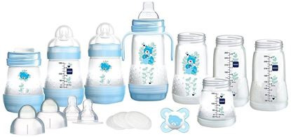Picture of Mam Bottle Starter Set BLUE-15 PIECES