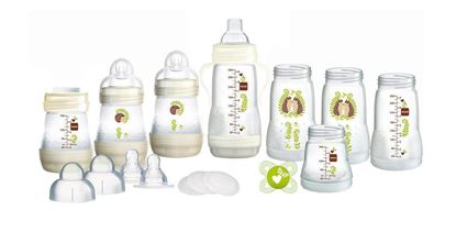 Picture of Mam Bottle Starter Set CREAM-15 PIECES