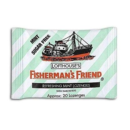 Picture of Fisherman's Friend Lozenges Mint Sugar-Free with Sweeteners 25g