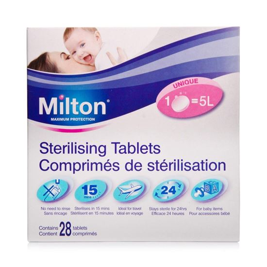 Picture of Milton Sterilising Tablets 28 Tablets