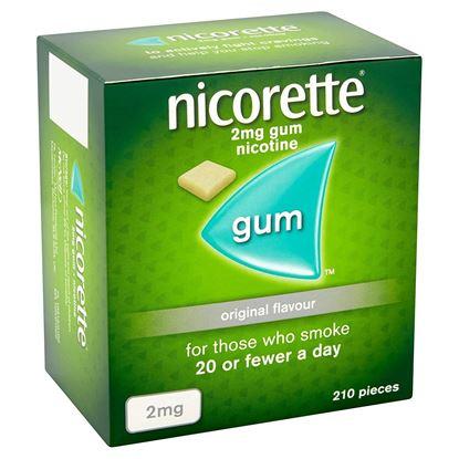 Picture of Nicorette Chewing Gum Orginal 2mg Quantity 210