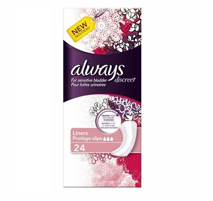 Picture of Always Discreet Liners  24