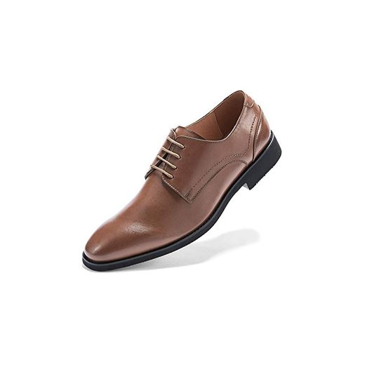 Picture of Men's Wingtip Dress Shoes Formal Oxfords Brown