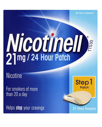 Picture of Nicotinell Nicotine Patch TTS30 21mg- Step 1 - 21 Days Supply