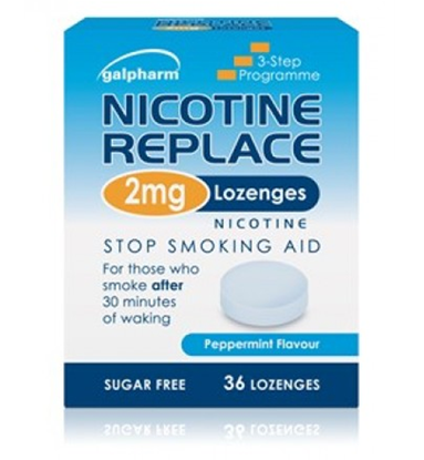 Picture of Galpharm Nicotine Replace 2mg Lozenges 36's