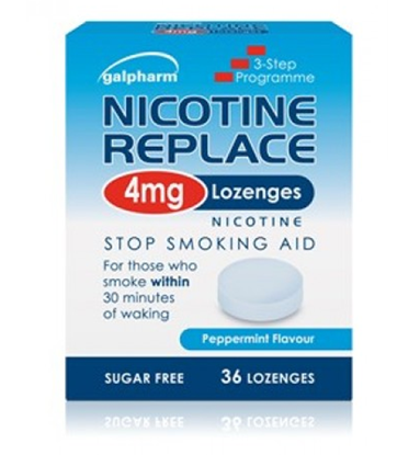 Picture of Galpharm Nicotine Replace 4mg Lozenges 36's