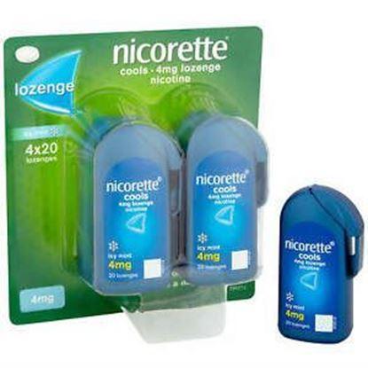 Picture of Nicorette Cools 4mg Lozenge