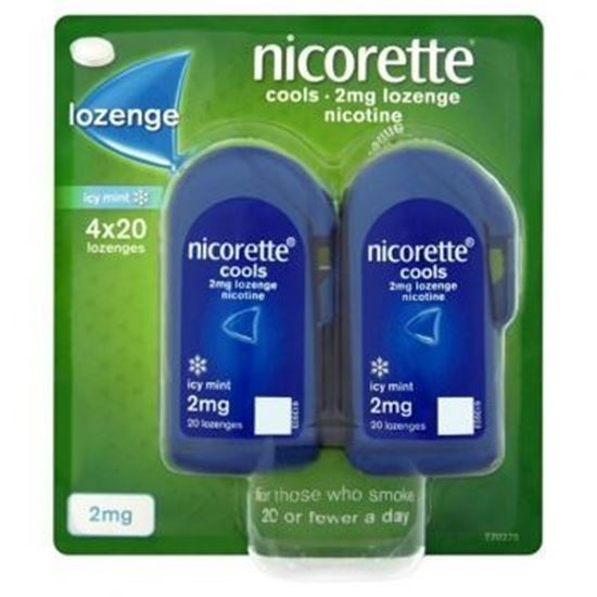Picture of Nicorette Cools Lozenge Mint 2Mg 80