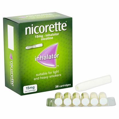 Picture of Nicorette Inhalator Nicotne 15 mg 36 Cartridges