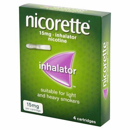 Picture of Nicorette Inhalator Starter Pack 15mg, 4 Cartridges