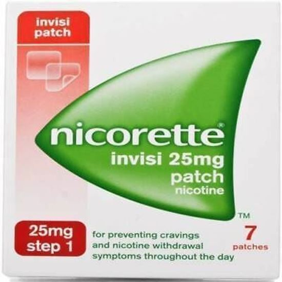 Picture of Nicorette Invisi 7 Patch 25mg Step 1