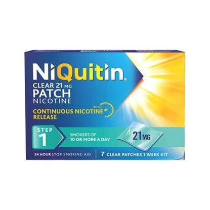 Picture of NiQuitin Clear 21mg Patch Nicotine Stop Smoking Aid